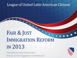 Immigration Reform Presentation
