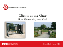 Patient Activation - National Quality Center