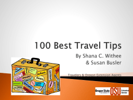 100 Best Travel Tips