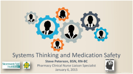 Systems Thinking: A Nursing Perspective