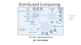 Term Project - Distributed computing