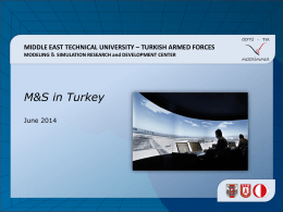 turkish armed forces modeling - Middle East Technical University