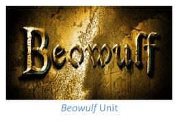 Beowulf - Schoolwires.net