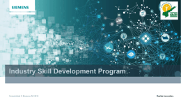 Siemens - Andhra Pradesh State Skill Development Corporation