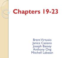 Chapter 19: Drifting Towards Disunion