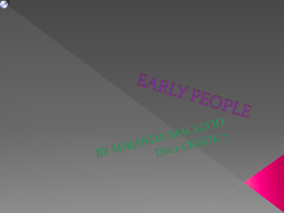 early people - MirandaHarrison