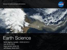 NASA Activity Report