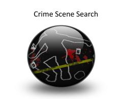 Crime Scene Search