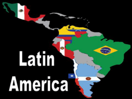 Latin America Landforms and Climate