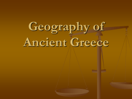 1 Geography of Greece notes