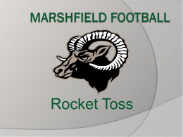 marshfield football