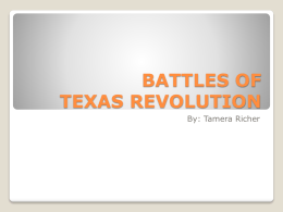 Battles 1-3 of TX Revolution