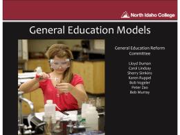 Gen Ed Models