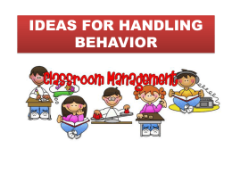 behavior management - Lisakingcounselor.com