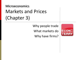 "Slides: ""Markets and Prices"""