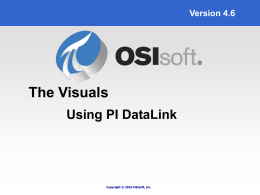 ProcessBook, DataLink and RtWebParts