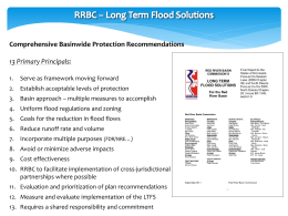 Red River Basin Commission Long Term Flood Solutions Slides