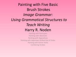 Painting with Five Basic Brush Strokes
