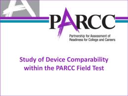 PARCC Device Comparability_CCSSO-2015
