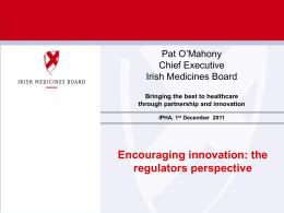 PowerPoint Presentation - Irish Pharmaceutical Healthcare