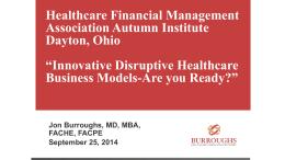 Disruptive Innovative Healthcare Business Models