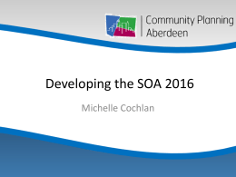 PowerPoint Presentation - Community Planning Aberdeen