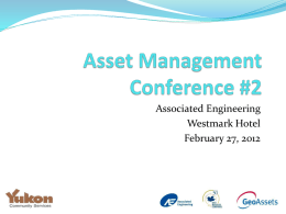Asset Management Conference #2