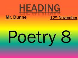 8 Poetry Haiku poem