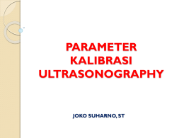 DIAGNOSTIC ULTRASONOGRAPHY
