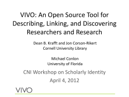 VIVO-ScholarlyIdentity