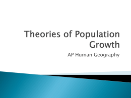 Theories of Population Growth