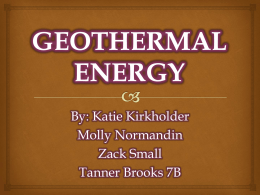 Geothermal Energy Facts - srjh