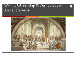 WHI.5c Politics of Greece