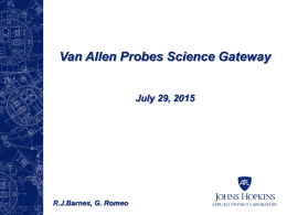 Van Allen Probes Science Gateway