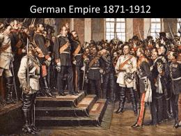 German Empire 1871-1890