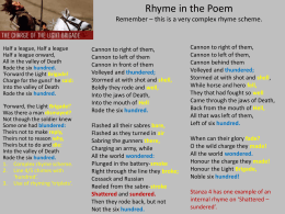 Rhyme PowerPoint