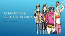 Characters: Treasure hunters - cooklowery14-15