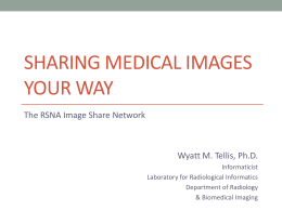 Sharing Medical Images Your Way