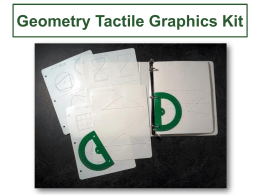 Geometry Tactile Graphics Kit