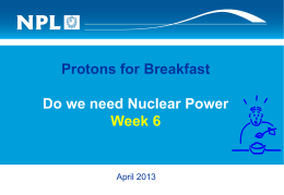 What is Nuclear Power? - National Physical Laboratory
