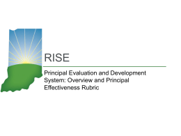 MIAB Principal Eval Overview and Rubric