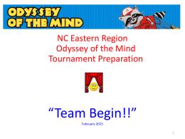 Tournament Preparation Presentation (from Feb. 14 webinar)