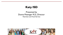 Donna Pittenger (Katy TX ISD)