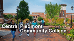 Central Piedmont Community College File