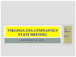 State Meeting Agenda 2015