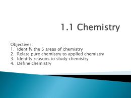 1.1 Chemistry - Central Lyon CSD
