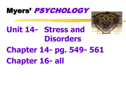 ch_14 powerpoint (stress and health)