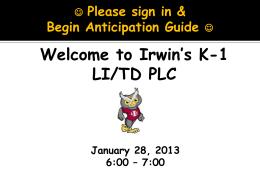 K-1+LI-TD+PLC+January28