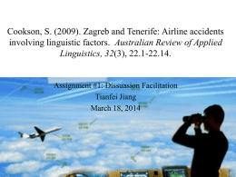 linguistic factors in aviation accidents
