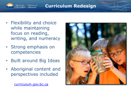 Curriculum-Update-at-Sooke-DPAC-June-2015
